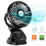 Top 10 Best Mini Fan With Clip In 2021 Reviews